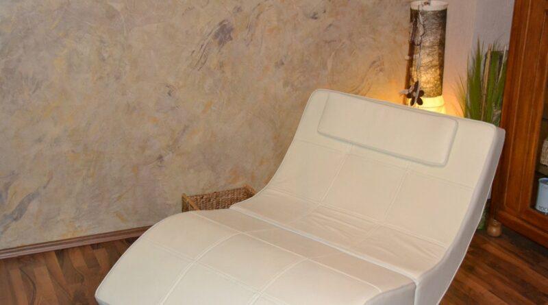 Spachteltechnik im Sauna und Ruhebereich
