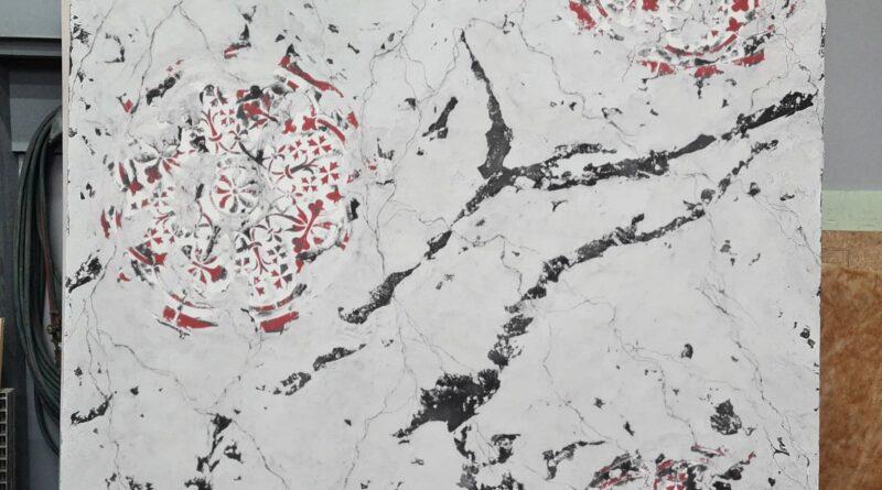 Wandgestaltung mit Kalkspachtel